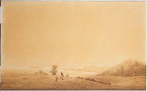 羊飼いのいるリューゲン島の東岸