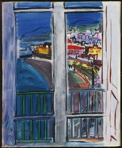 プロムナード・デ・ザングレの窓