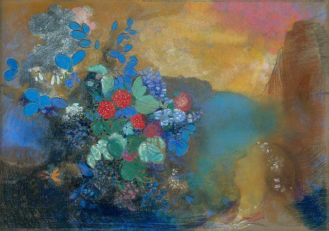 花の中のオフィーリア