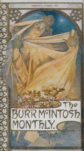 『バー・マッキントッシュ・マンスリー』誌表紙(1907年12月号)