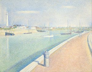 762px-seurat_georges_-_the_channel_of_gravelines_petit_fort_philippe_-_google_art_project