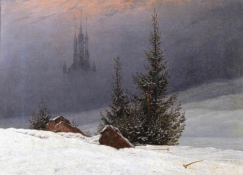 冬景色(ロンドン・ナショナル・ギャラリー)