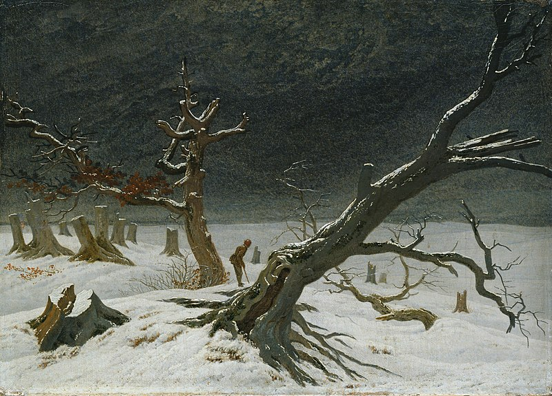冬景色(国立シュヴェリーン美術館)