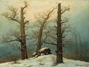 caspar_david_friedrich_-_cairn_in_snow_-_google_art_project