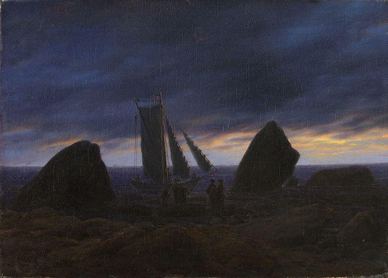 バルト海の漁船