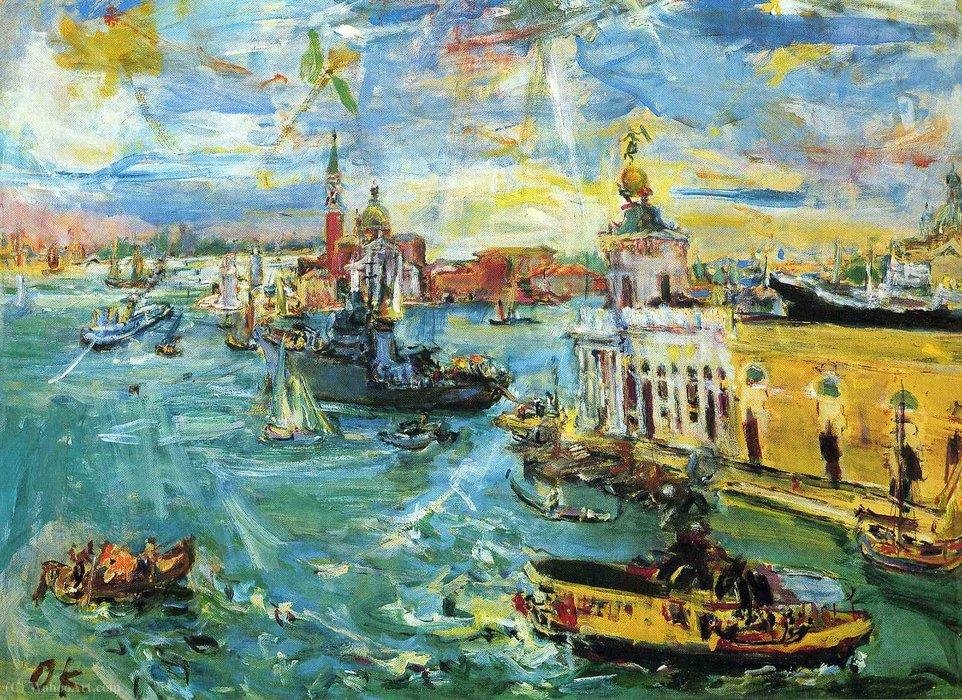 ヴェネチアのサン・マルコ湾