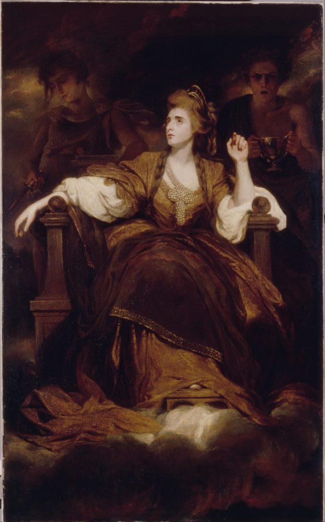 悲劇の女神としてのシドンズ夫人