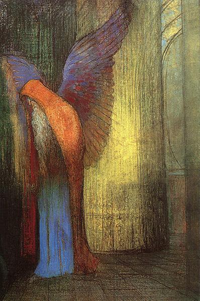 白いひげと翼の老人
