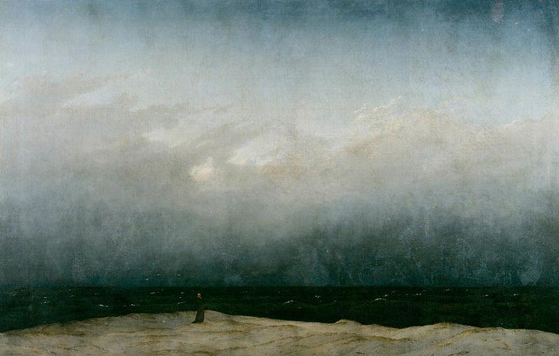 海辺の修道士