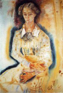 ロッテ・フランツォースの肖像画