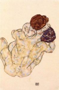 抱擁(男と女)