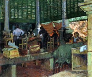 マルセイユの魚市場