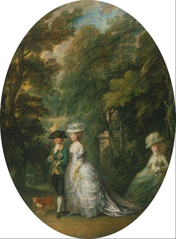 カンバーランド公爵ヘンリーと公爵夫人、レディ・エリザベス・ラトレル