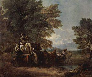 収穫の荷馬車(1767年)