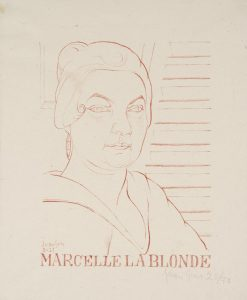 Blonde Marcelle 1921 Juan Gris 1887-1927 Bequeathed by Elly Kahnweiler 1991 to form part of the gift of Gustav and Elly Kahnweiler, accessioned 1994 http://www.tate.org.uk/art/work/P11370