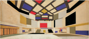 colored-perspective-drawing-for-university-concert-hall-designed-by-cornelis-van-easternern