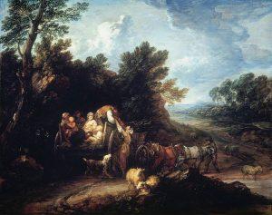 収穫の荷馬車(1784年)