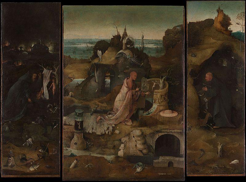 隠修士の祭壇画
