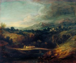 The Bridge c.1786 by Thomas Gainsborough 1727-1788