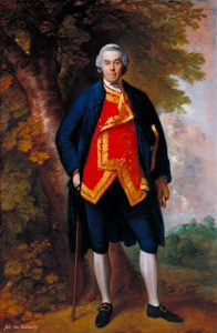 John Needham, 10th Viscount Kilmorey c.1768 by Thomas Gainsborough 1727-1788
