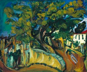 Cagnes Landscape with Tree c.1925-6 Cha?m Soutine 1893-1943 Bequeathed by John Levy 1977 http://www.tate.org.uk/art/work/T02132