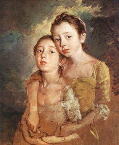 画家の娘と猫