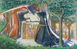 Arthur's Tomb 1860 Dante Gabriel Rossetti 1828-1882 Presented by the Art Fund 1918 http://www.tate.org.uk/art/work/N03283
