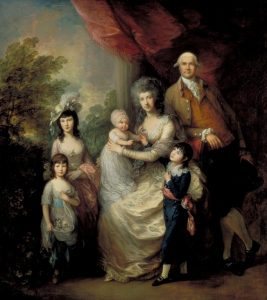 The Baillie Family c.1784 by Thomas Gainsborough 1727-1788