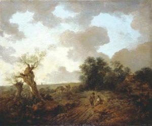 サフォークの風景(1750年代)