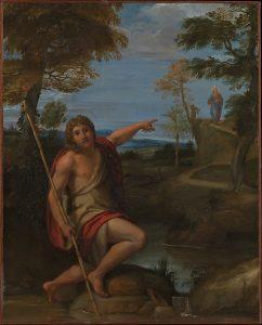 目撃者となる洗礼者ヨハネ