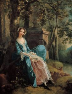 ロイド家の女性の肖像