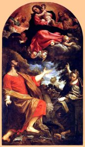 ルカとカタリナの前に現れたイエスの母