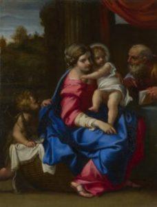 聖なる家族と洗礼者ヨハネ