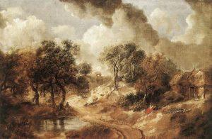 サフォークの風景(1740年代)