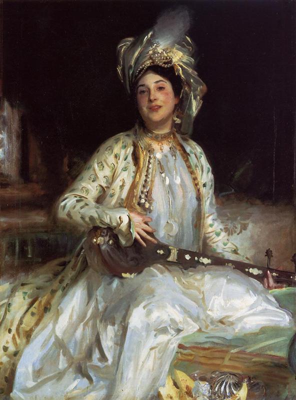アッシャー・ウェルトハイマーの娘、アルミナ