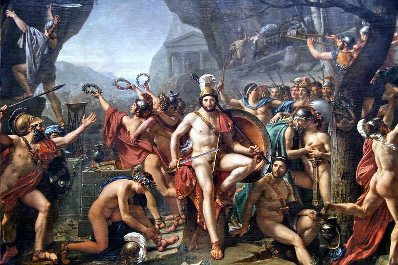 テルモピュライのレオニダス