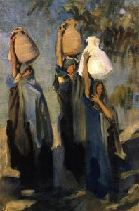 27-bedouin_women_carrying_water_jars