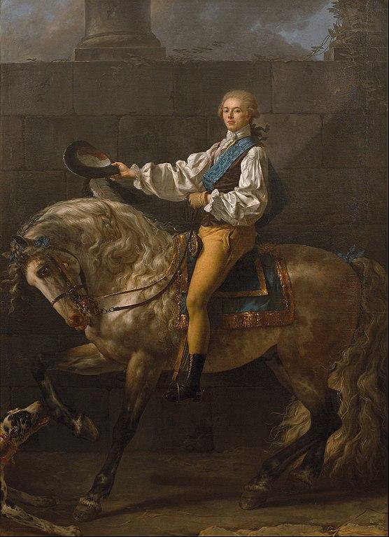 スタニスワフ・ポトツキ伯爵の肖像