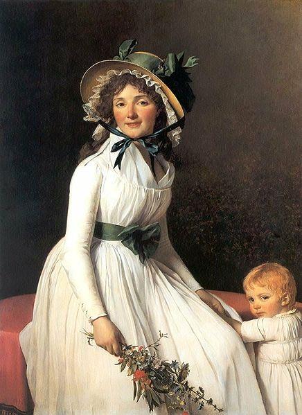 エミリー・セリジアと息子の肖像