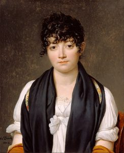 スザンヌ・ルペルティエ・ド・サン=ファルジョーの肖像