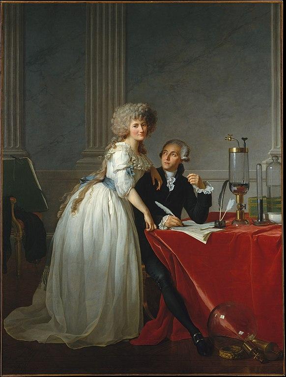 アントワーヌ・ラヴォアジエと妻の肖像