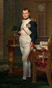 書斎のナポレオン・ボナパルト
