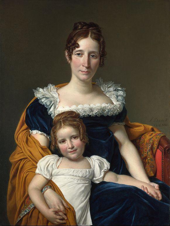 ヴィレイン伯爵夫人とその娘