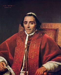 教皇ピウス7世の肖像