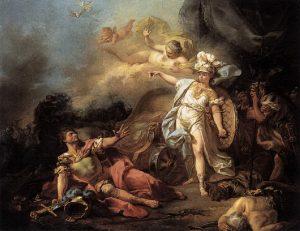 マルスとミネルヴァの戦い