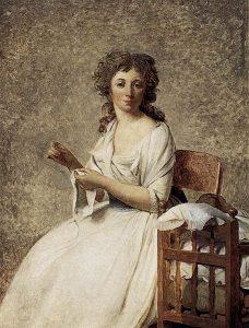 アデレード・パストレ夫人の肖像