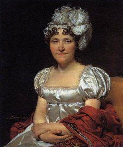 マルグリット・シャルロット・ダヴィッドの肖像