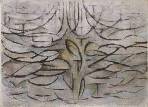 花盛りの林檎の木