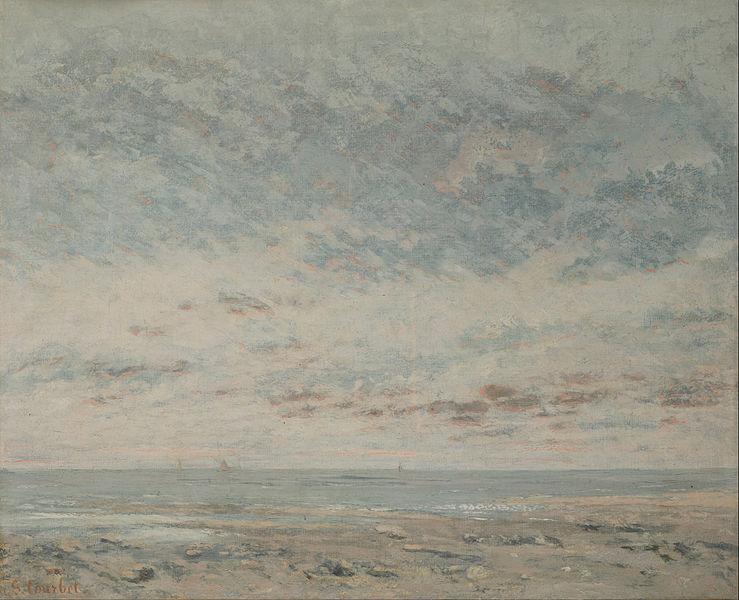 トゥルーヴィルの干潮