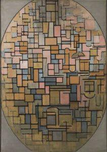 絵画111 楕円のコンポジション
